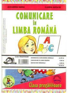 CLASA PREGATITOARE: SET 3 CARTI (Comunicare in limba romana, Matematica si explorarea mediului, Dezvoltare personala)