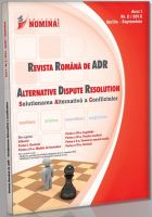 Revista Romana de Alternative Dispute Resolution nr. 2/2012