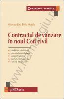 Contractul de vanzare in noul Cod civil, 2014