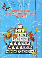 28 DE PLANSE CU NUMERATIA 0-100 PENTRU CLASA PREGATITOARE SI CLASA I