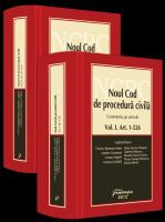 Gabriel Boroi (coordonator) | Noul Cod de procedura civila. Comentariu pe articole